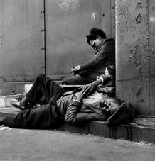 Homeless Couple, Harlem, New York