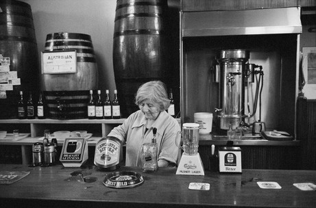 Martin Parr: Yates's Wine Lodges, Oldham Street, Manchester, England, 1983