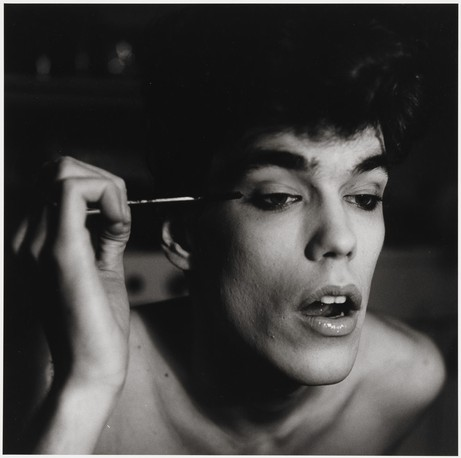 Peter Hujar: David Brintzenhofe Applying Makeup (II),